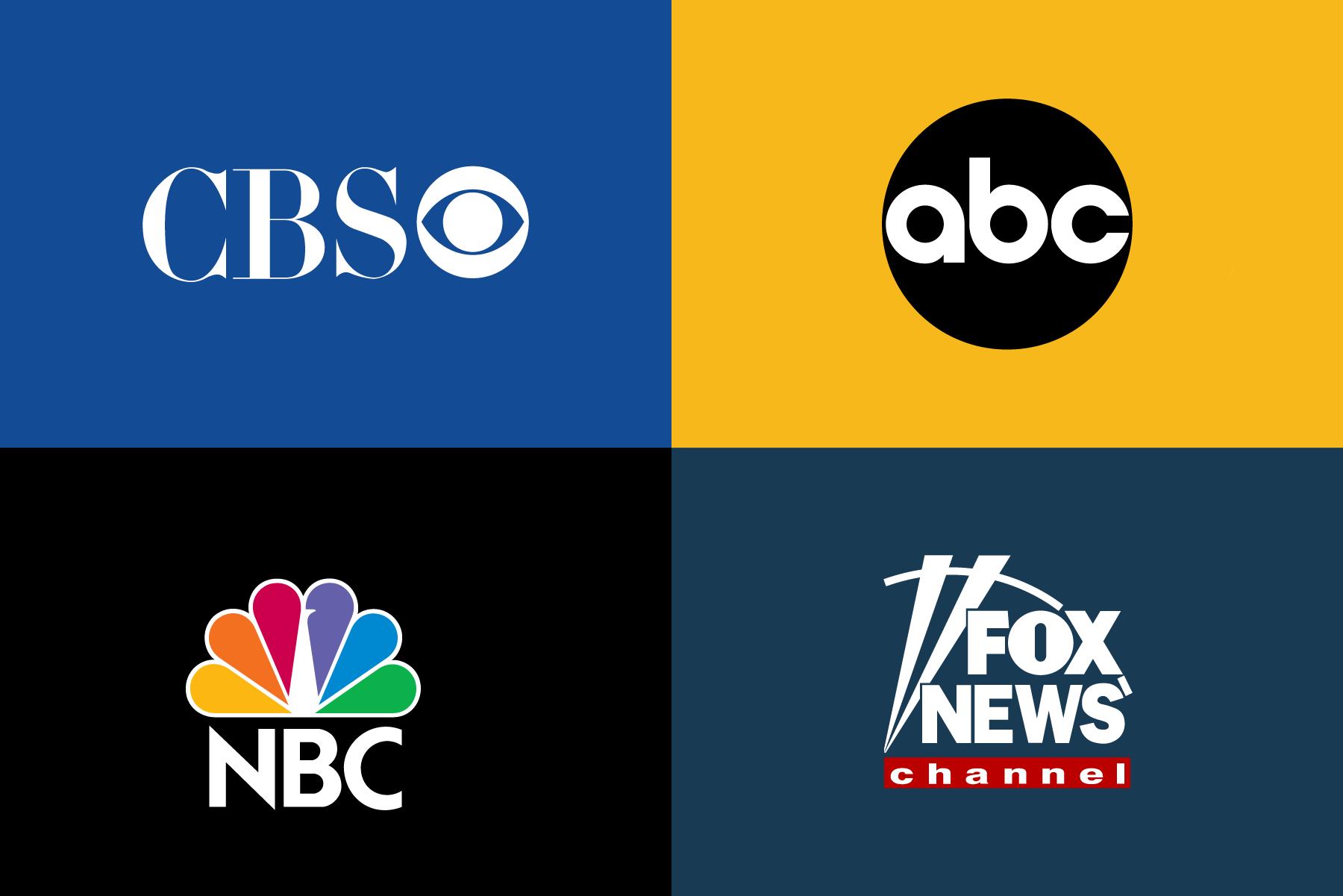 CBS ABC NBC Fox Media