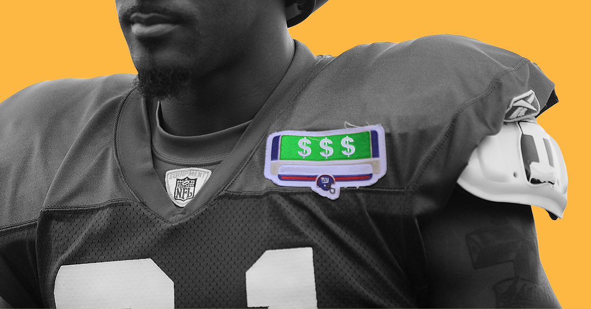 NFL Practice Jersey Patches Proliferate as Brands Target Training Camp