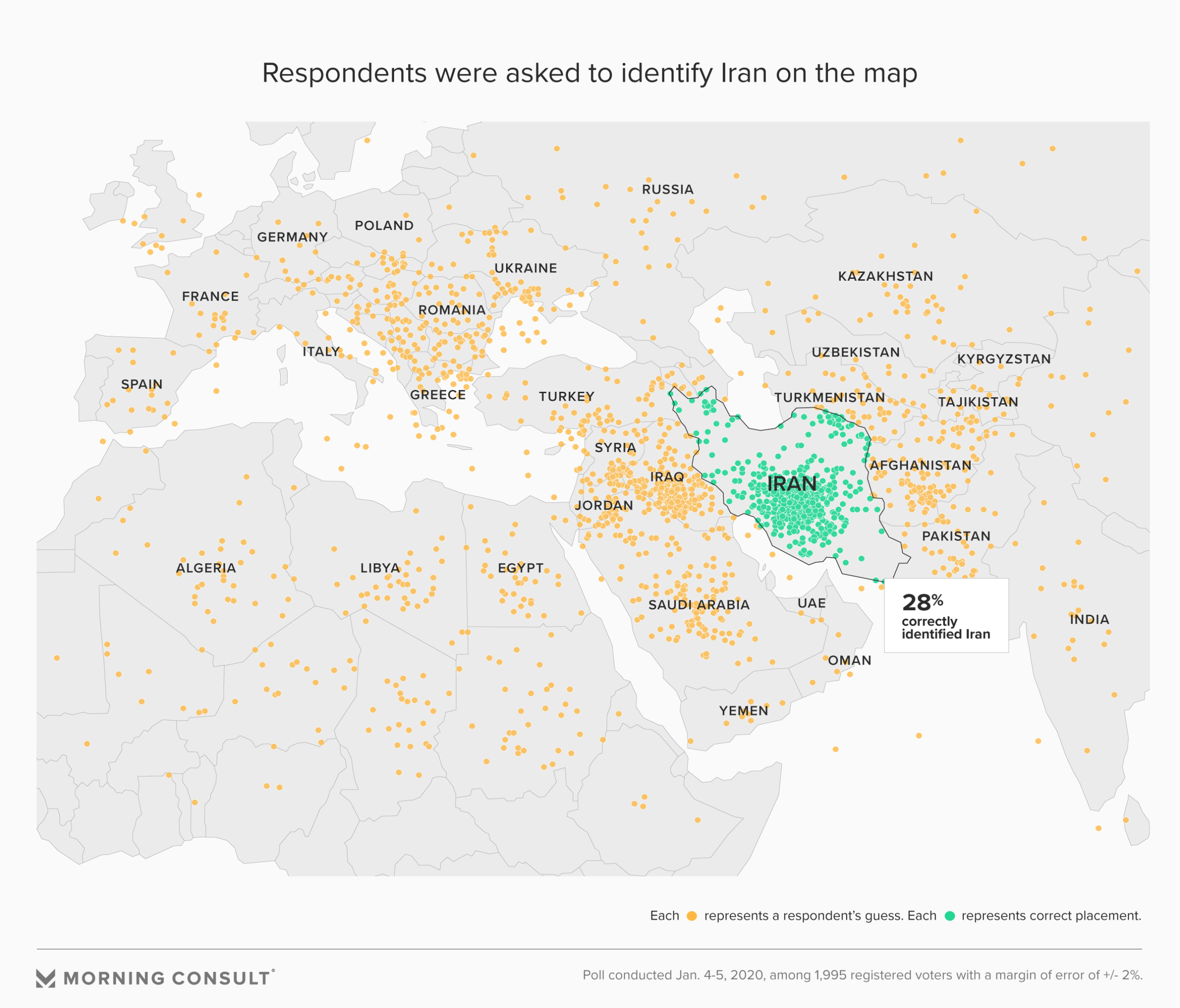 Picture of: Can You Locate Iran Few Voters Can