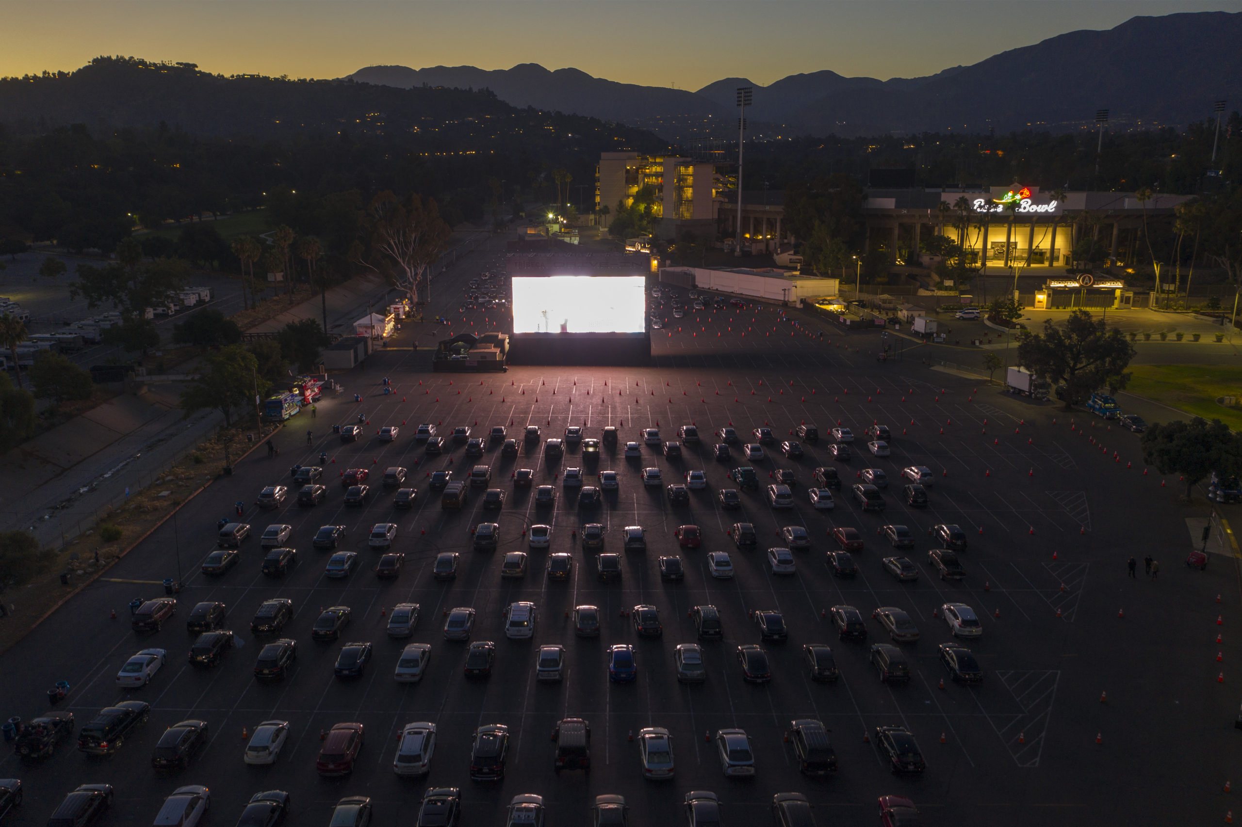With Traditional Theaters Closed Drive Ins Look To Draw Customers Morning Consult
