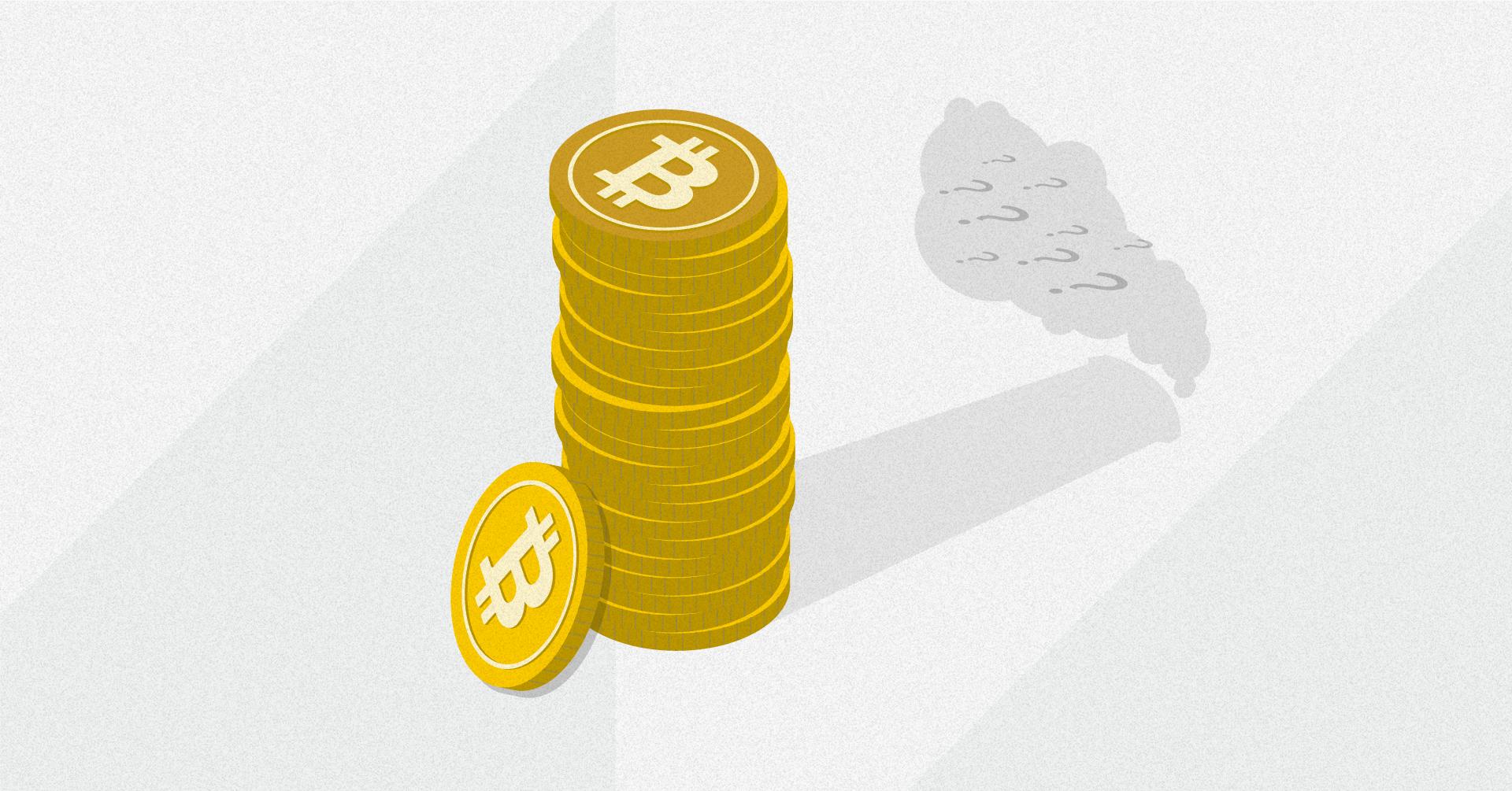 bitcoin negatyvi